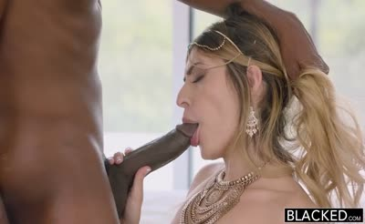 Audrey Royal - Middle Eastern Beauty Loves BBC