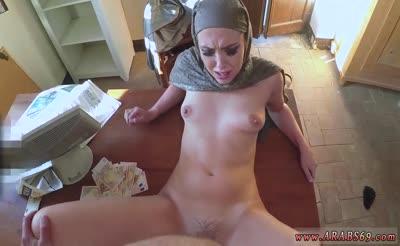 small arab Teen girl likes getting dick