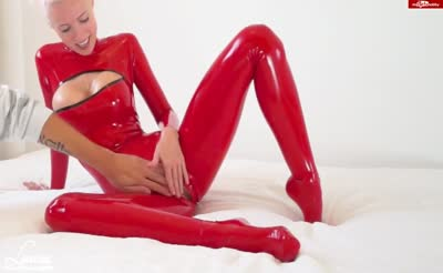 LAURA The German Red Latex Doll