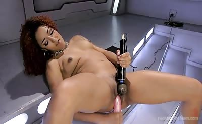 FuckingMachines  Kink – Daisy Ducati Pussy Stretched with Big Red, Ass Fucking, and Non Stop Squirting