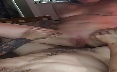 wife squirts on my cock
