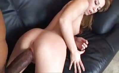 Tiny blonde huge cock
