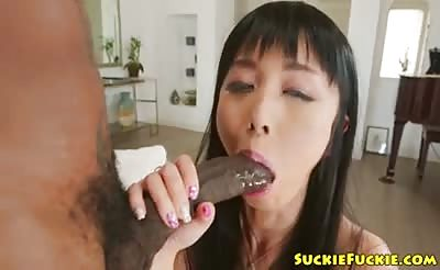 Amateur asian babe anally fucked by bbc
