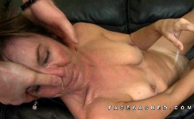 Eurobabe scissoring grandma after oral sex 3