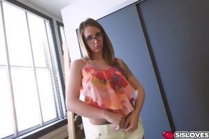 Luscious chick Layla London getting pounded