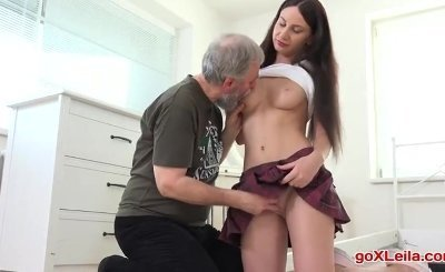 young Nakita Star gets her first taste of older cock extremetube porn