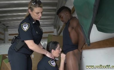Lela star police officer amateur threesome