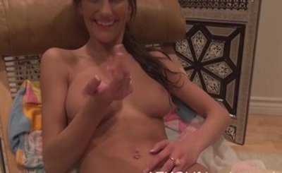 After your POV date and hardcore sex, you cum on August Ames sweet face