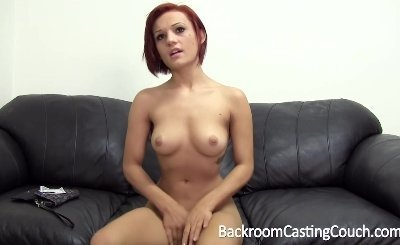 Amazing Teen Anal on Backroom Casting Couch