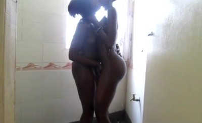 Amateur Black sluts are having great lesbian sex