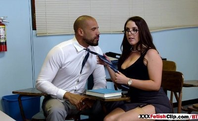 Angela White in Parent Fucking Teacher Meetings