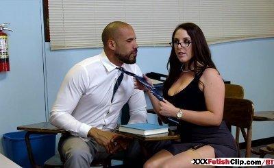 Angela White in Parent Fucking Teacher Meetings