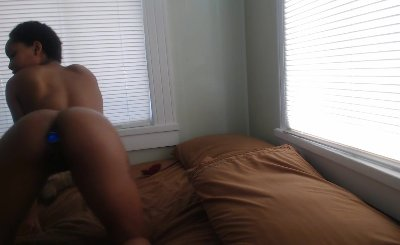 Anal masturbation ebony amateur Donna