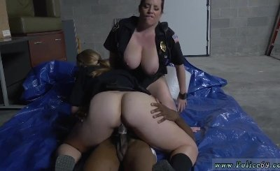 Beautiful blonde hard and little blonde girl fucked by black gang bang