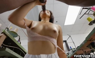 Big black cock anal fucks Milcah Halilis asshole so hard