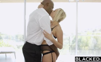 BLACKED Blonde Kate England big ass maid Gets fucked