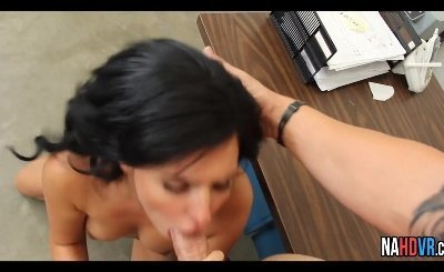 Brunette Small Tits Boss And Young Coworker Danica Dillon