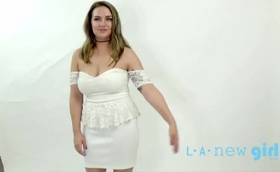 BRUTALLY FUCKED DURING PHOTO SHOOT AUDITION