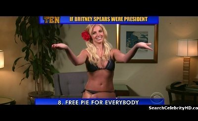 Britney Spears in Late Show with David Letterman (2009