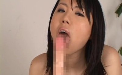 Busty asian Rin Aoki working some cock