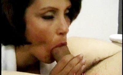 Candy Vegas Big tits Blowjob Brunette Cumshot Jizz