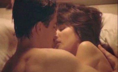 Celebrity actress Daphne Zuniga nude has sex with guy