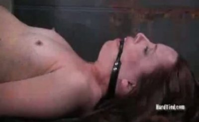 Claire Adams pussy spanking and dildo fucking
