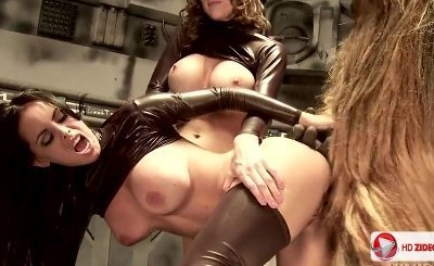 Costumed Monkey Man Fuck Eve Lawrence And Brandy Aniston HD