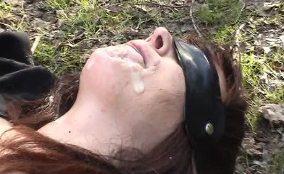 Dirty wife pissed on by many guys in public