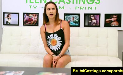 FetishNetwork Ashley Adams bdsm teen sex casting couch
