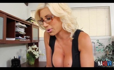 Fucking My Blonde Big Tit Boss Puma Swede
