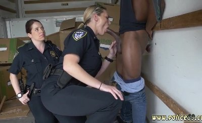 German lesbian cop and manuel ferrara police orgy Black suspect taken on