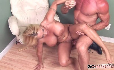 Holly Halston Cockhungry MILF gets what she wants