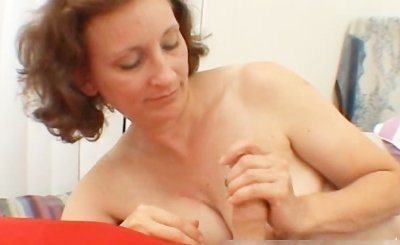 Horny mom next door stroking a stiff rod part5