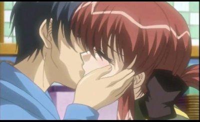 Horny anime widow giving amazing blowjob