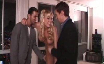 Hot german wife Nicole Sheridan get fucked by 2 guys