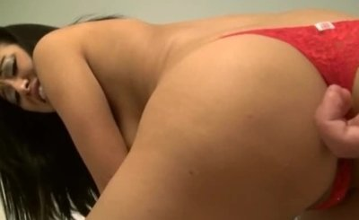 Huge cock in tiny asian bum hole