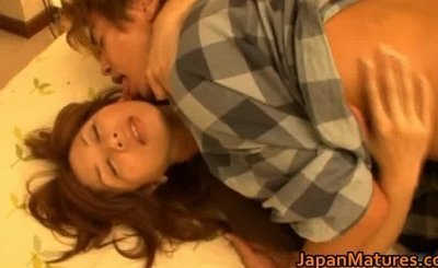 Japanese mature lady has great sex part5