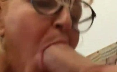 Large Glasses Exotic Grandmother