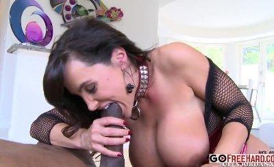 Lisa Ann anal Silenced By Mandingo's Cock