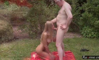 Lolly Gartner and Nick Outdoor Old Young Sex