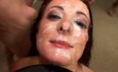 Melissa Lauren Blasted and Eating Multiple Loads