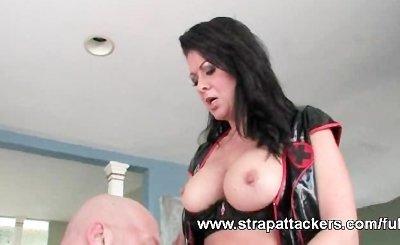 Milf strapon femdom porn