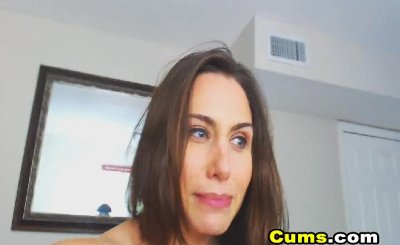 My Wife Enjoys Masturbating in Front of her Webcam