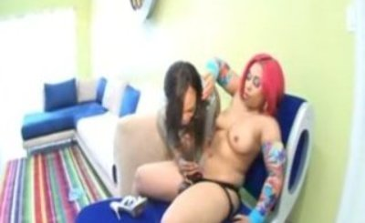 Pinky Screws Lacey Duvalle With Massive Strap-On!