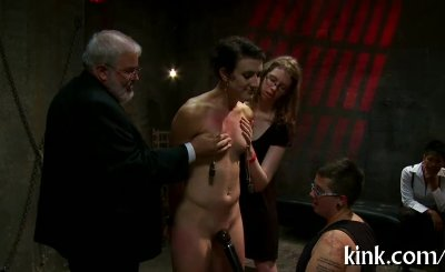 pretty hot girl suffers beautifully in hard bondage and sex