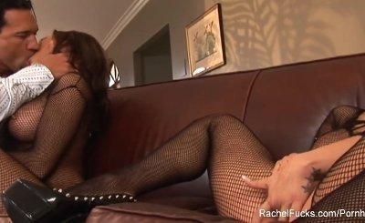 Rachel Roxxx gets her pussy pounded hard