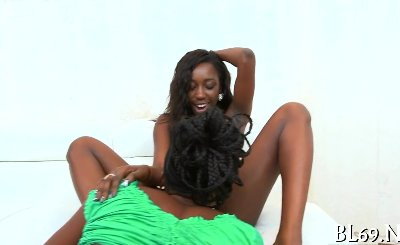 Rough sex for a stunning ebony part 2