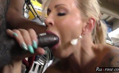 Ryan Conner Big Tits interracial threesome HD