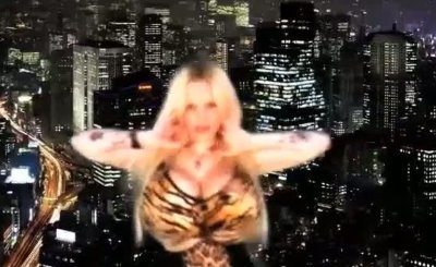 SABRINA SABROK HOT PUNK  SINGER WITH THE BIGGEST BREAST IN THE WORLD